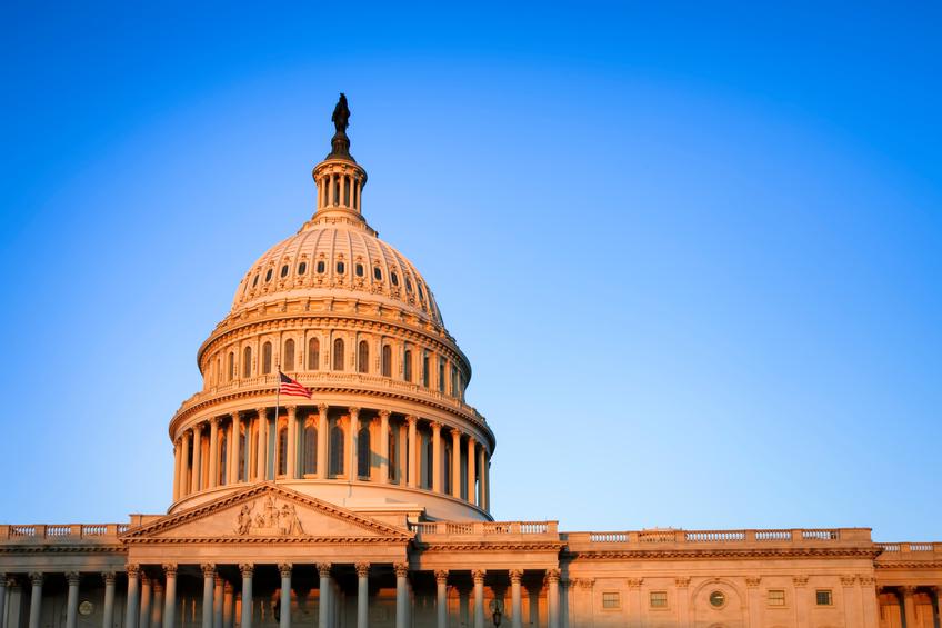 U.S. Capitol Building at Dawn